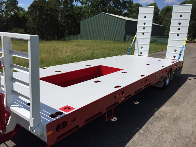 jp trailers red single axel plant trailer 425295 033