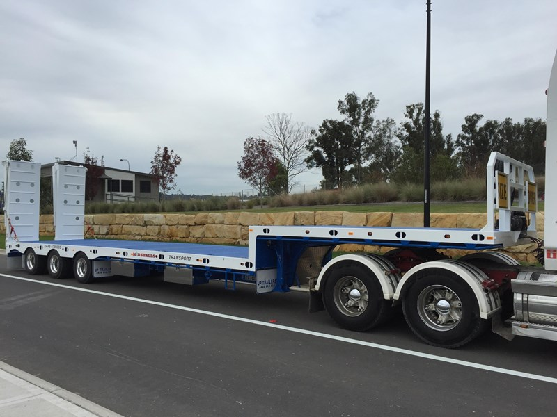 jp trailers tri axel drop deck trailer 425328 010