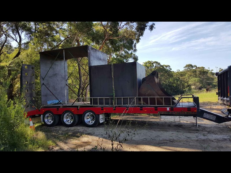 jp trailers tri axel plant trailer 425334 003