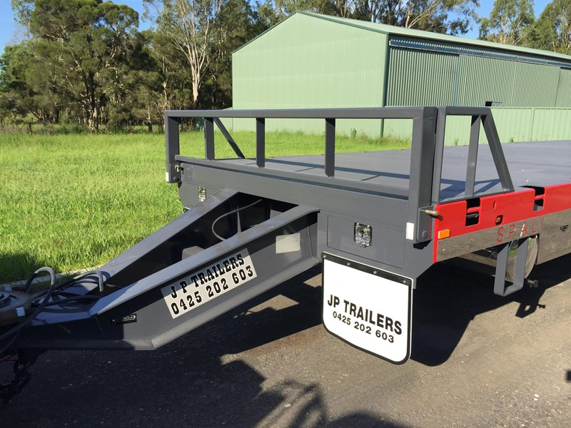 jp trailers tri axel plant trailer 425334 013