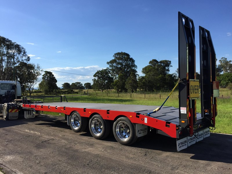 jp trailers tri axel plant trailer 425334 019