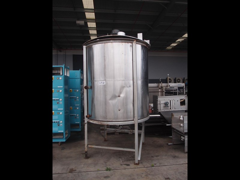 stainless steel mixing tank vertical 425340 001