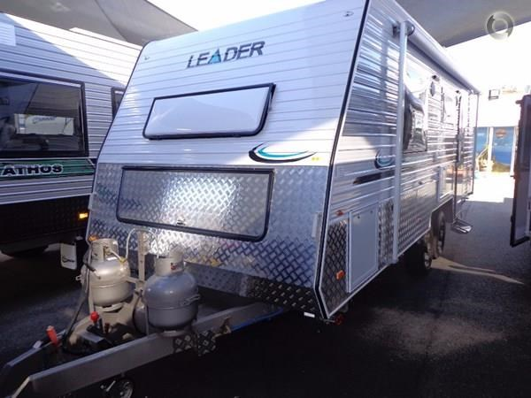 leader caravans gold 19 tandem ensuite independent suspension 427191 001