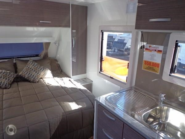 leader caravans gold 17'single axle ensuite 427198 013
