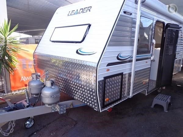 leader caravans gold 17'single axle ensuite 427198 019