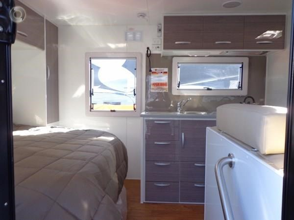leader caravans gold 17'single axle ensuite 427198 021