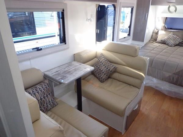 leader caravans gold 17'single axle ensuite 427198 033