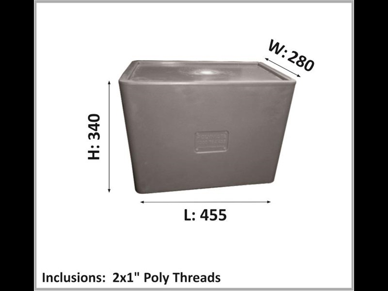 polymate 35ltr poly water cartage tank 427655 001