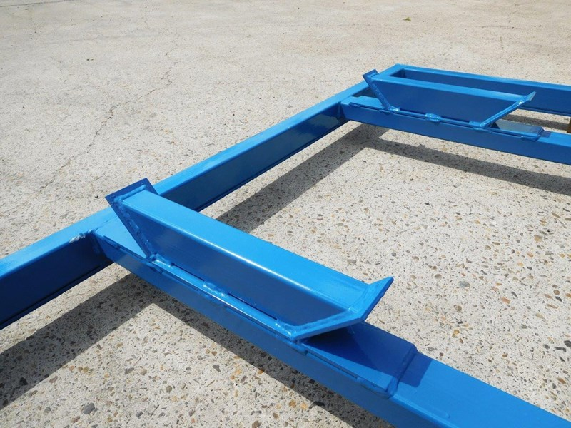 other heavy duty extreme built 1800mm x 1600mm spreader bars / 1800 mm width levelling bars attachments [attbars] 427658 033