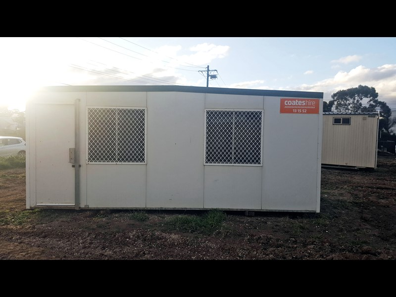 e i group portables used 6m x 3m 415905 001