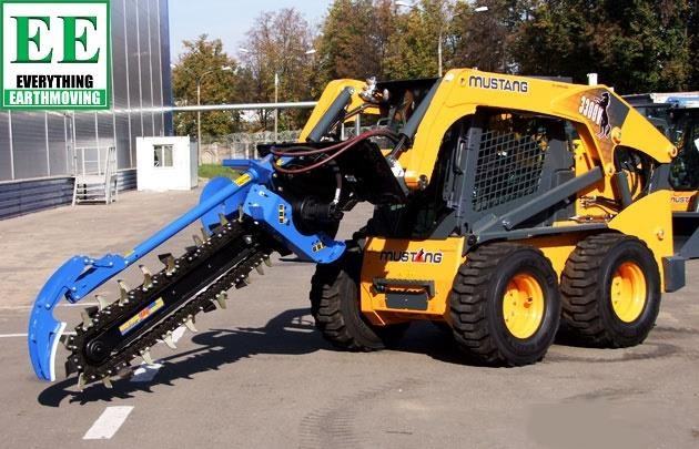 auger torque trenchers // excavators 5t to 10t, high flow skidsteer loaders and backhoes 429385 010