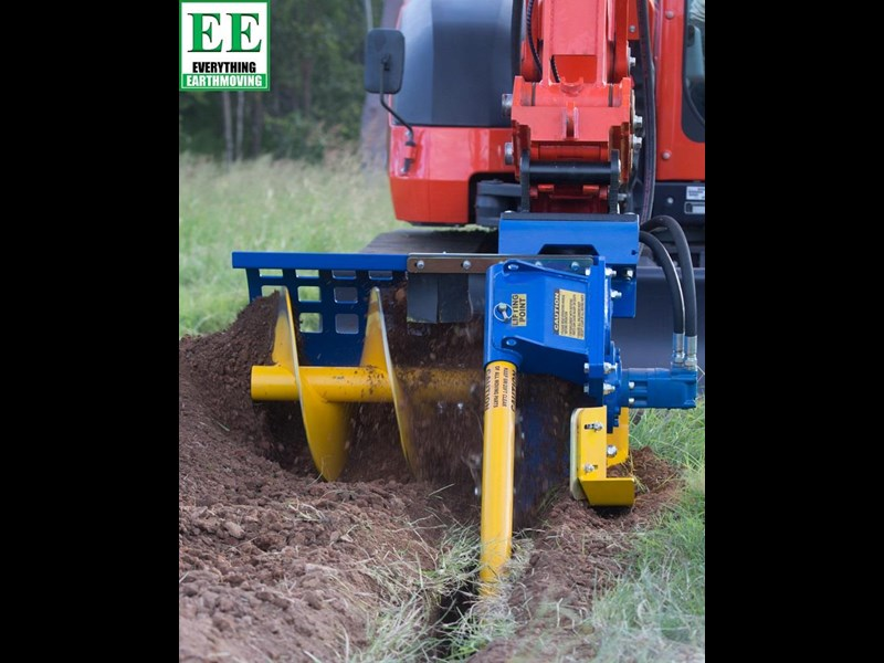 auger torque trenchers // excavators 5t to 10t, high flow skidsteer loaders and backhoes 429552 005