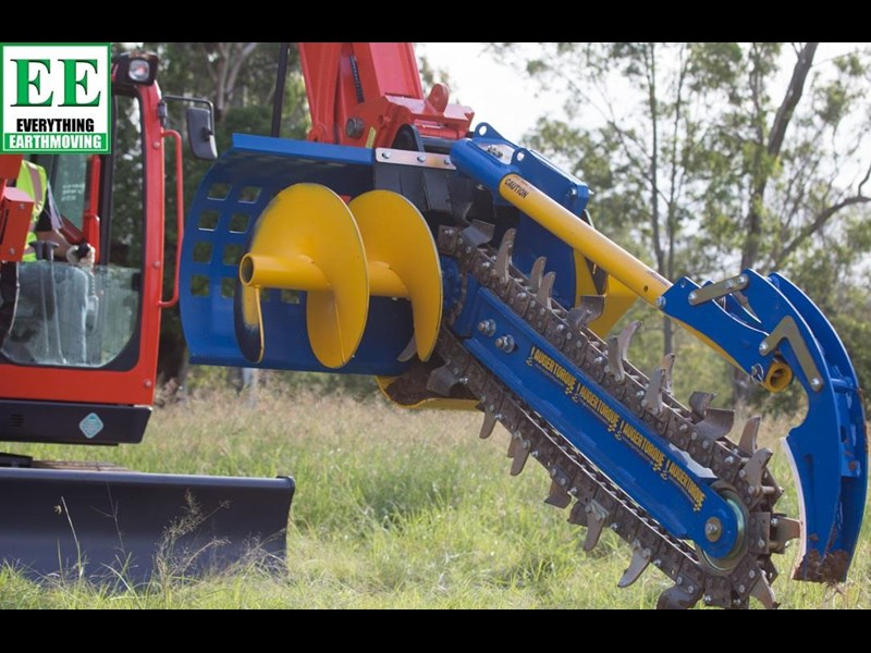 auger torque trenchers // excavators 5t to 10t, high flow skidsteer loaders and backhoes 429552 007