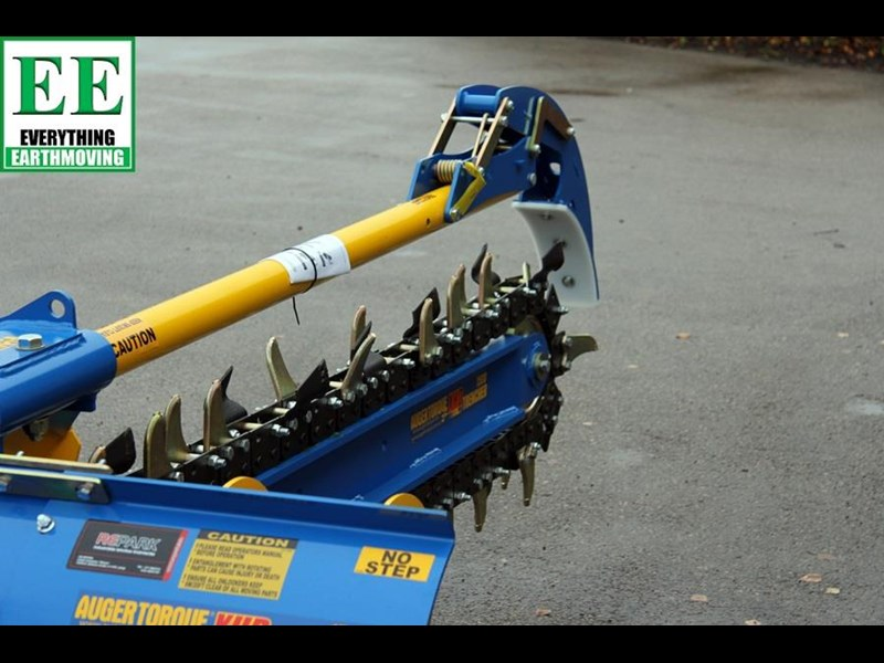 auger torque trenchers // excavators 5t to 10t, high flow skidsteer loaders and backhoes 429552 013