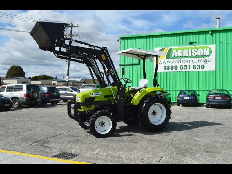 agrison 55hp ultra g3 + rops + 6ft slasher + front end loader (fel) + 4in1 bucket 429472 005