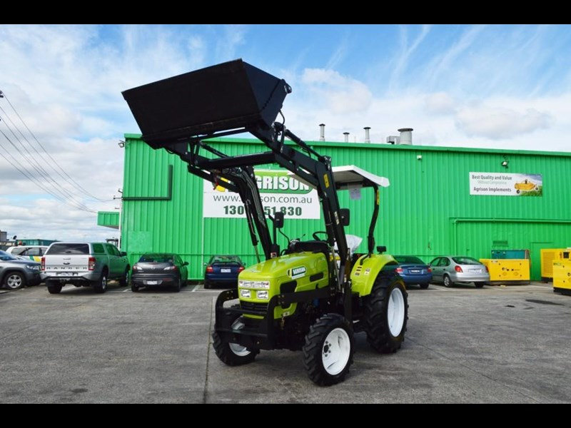 agrison 55hp ultra g3 + rops + 6ft slasher + front end loader (fel) + 4in1 bucket 429472 009