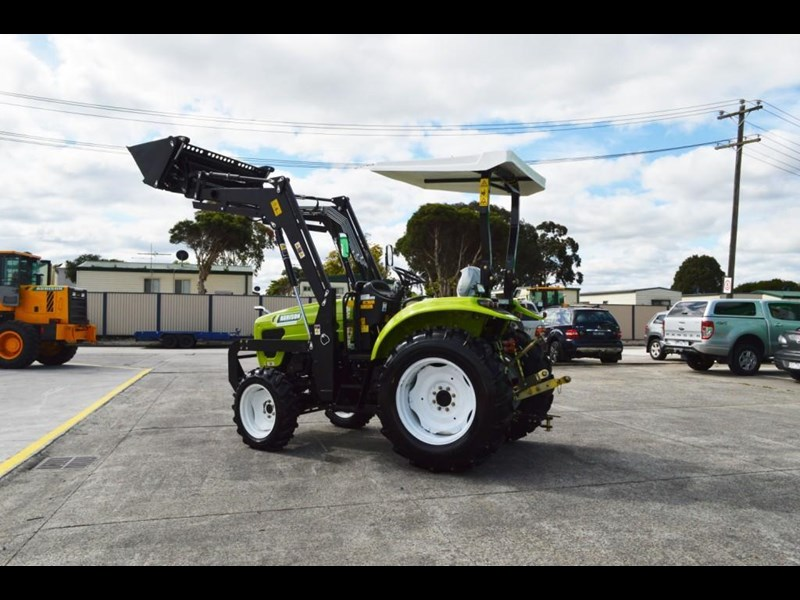 agrison 55hp ultra g3 + rops + 6ft slasher + front end loader (fel) + 4in1 bucket 429472 033