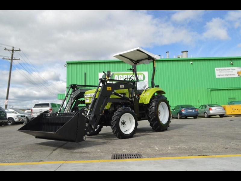 agrison 55hp ultra g3 + rops + 6ft slasher + front end loader (fel) + 4in1 bucket 429472 049