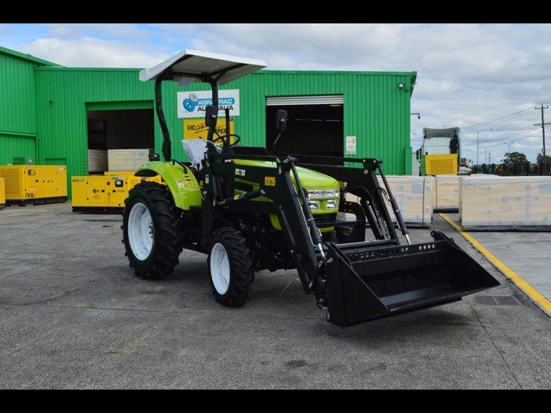 agrison 55hp ultra g3 + rops + 6ft slasher + front end loader (fel) + 4in1 bucket 429472 053