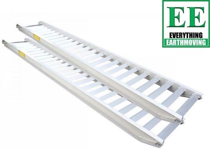 sureweld aluminium loading ramps call everything earthmoving 1300 43 44 33 429553 003