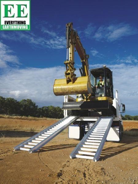 sureweld aluminium loading ramps call everything earthmoving 1300 43 44 33 429553 001