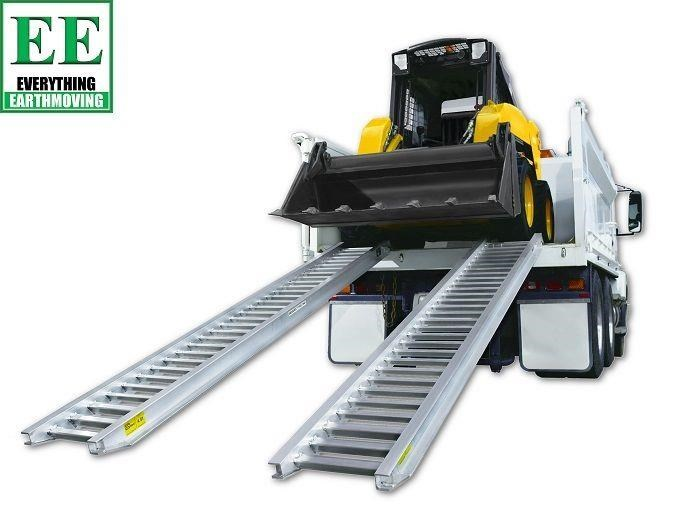 sureweld aluminium loading ramps call everything earthmoving 1300 43 44 33 429553 021