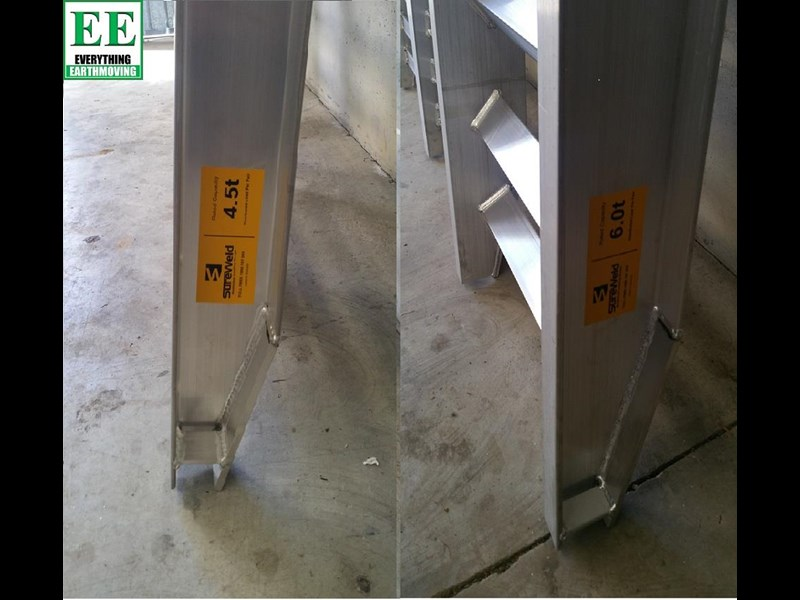 sureweld aluminium loading ramps call everything earthmoving 1300 43 44 33 429553 009