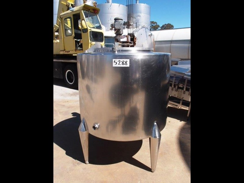 stainless steel mixing tank vertical 429937 001