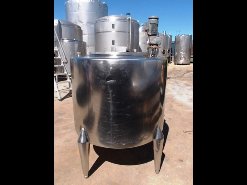 stainless steel mixing tank vertical 429937 003
