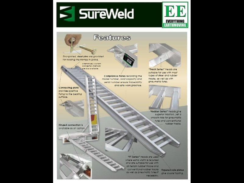 sureweld aluminium loading ramps 429990 013