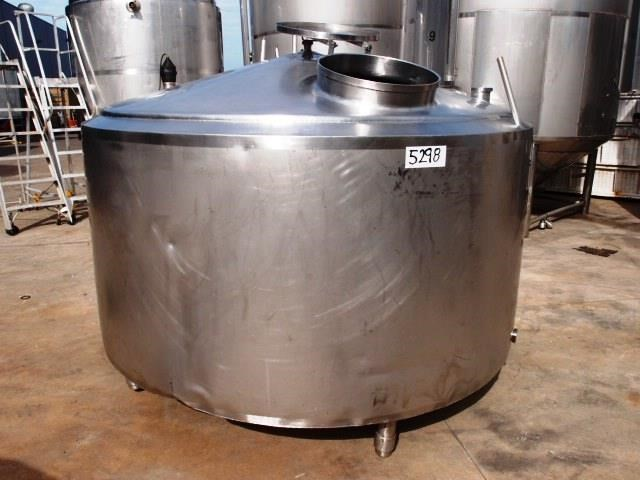 stainless steel jacketed tank 3,000lt 430138 001