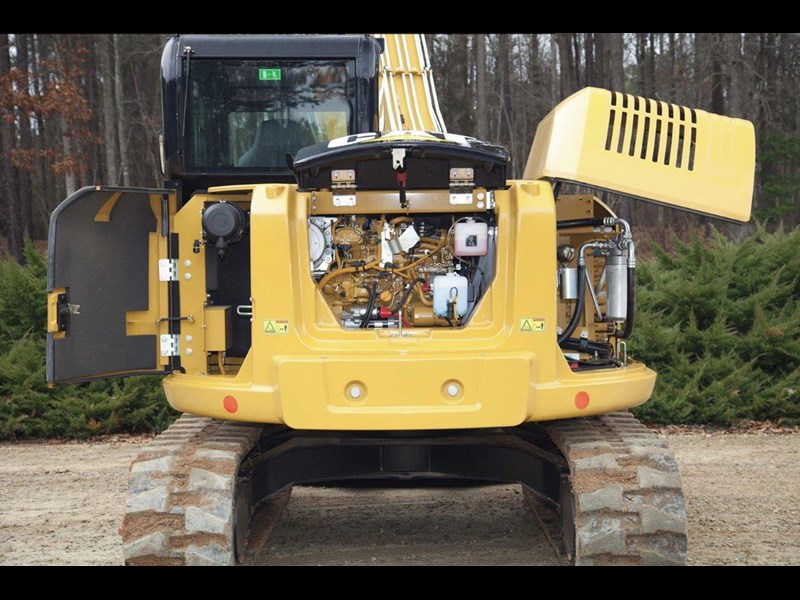 caterpillar #308einc05 308e2.cr 8.4 ton cat 308.e2 steel tracks excavator fitted with rubber pads [unused 8.8 hrs] [machexc] 430253 011