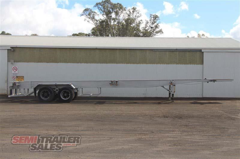 freighter 45/48ft skel semi trailer with 2 way pins 431660 001