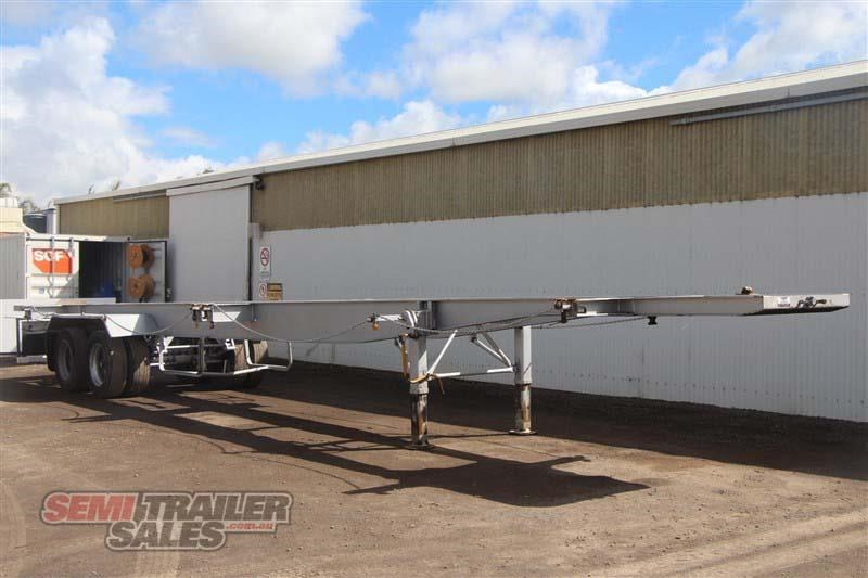 freighter 45/48ft skel semi trailer with 2 way pins 431660 002