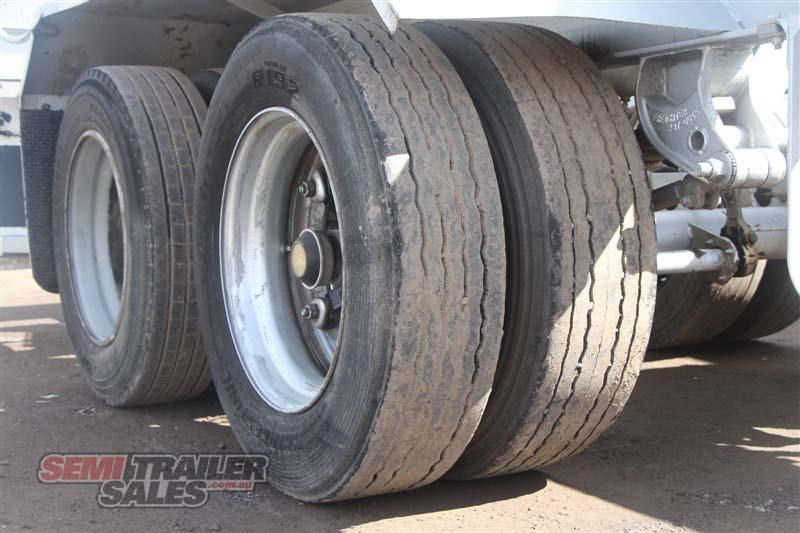 freighter 45/48ft skel semi trailer with 2 way pins 431660 007