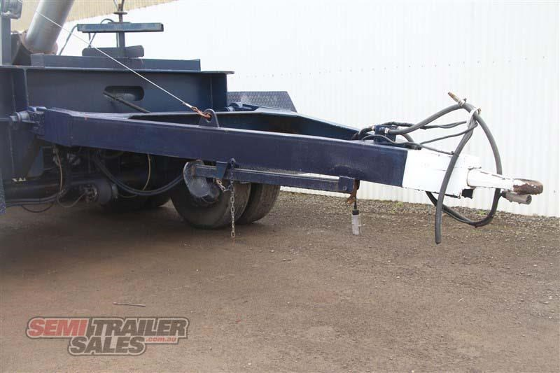 custom tri axle dolly with centre mount hoist 432385 011