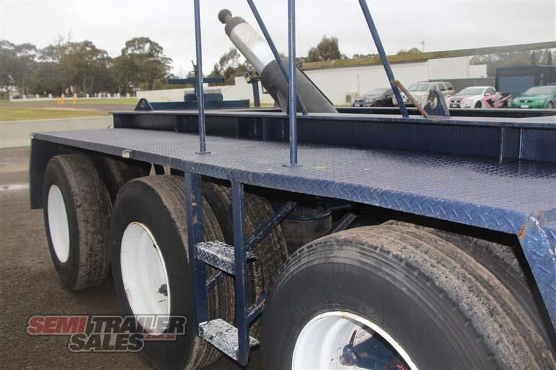 custom tri axle dolly with centre mount hoist 432385 016