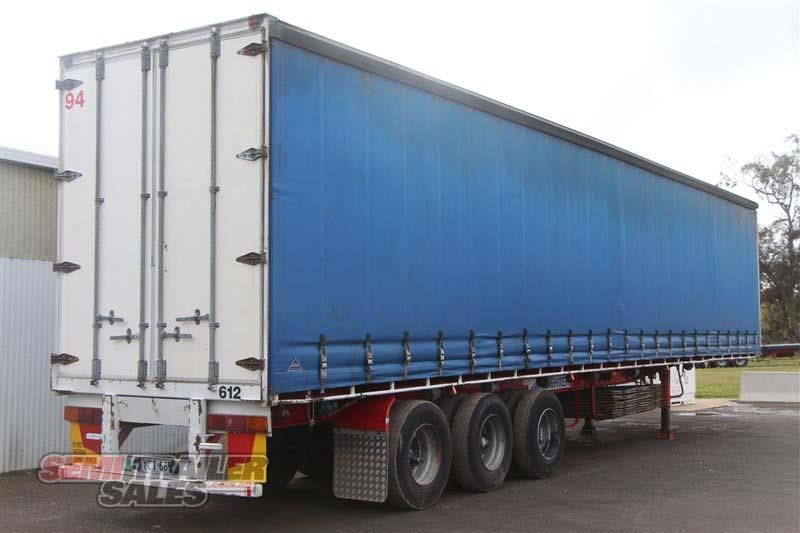 freighter 48ft flat top curtainsider semi trailer 433364 003