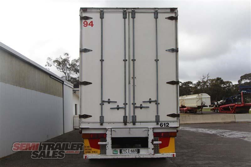 freighter 48ft flat top curtainsider semi trailer 433364 005