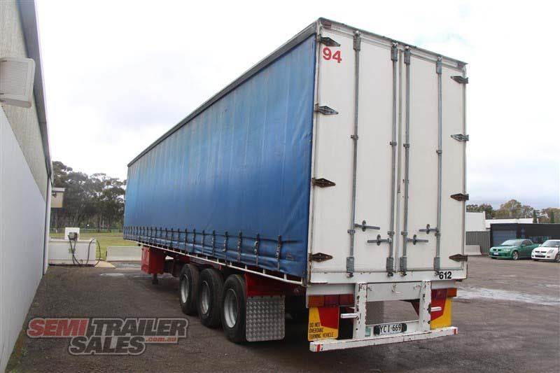 freighter 48ft flat top curtainsider semi trailer 433364 014