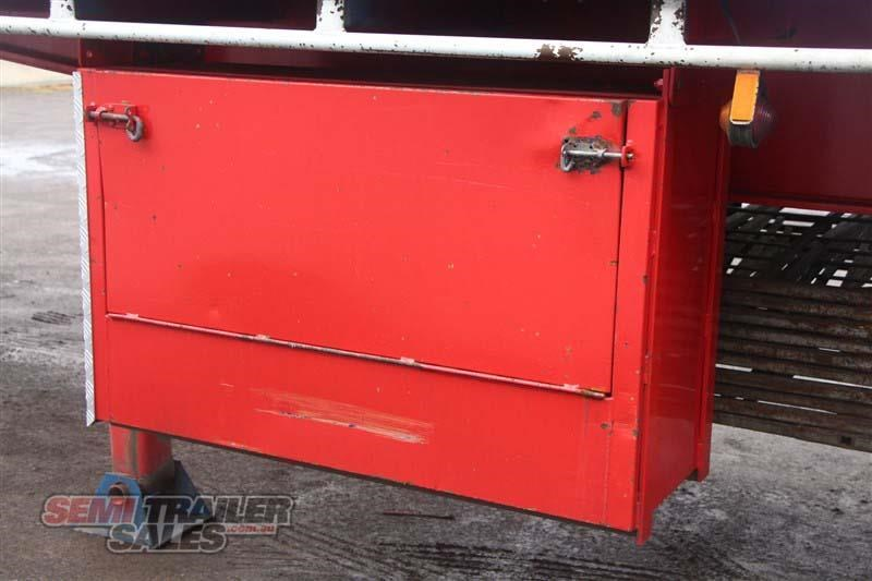 freighter 48ft flat top curtainsider semi trailer 433364 015