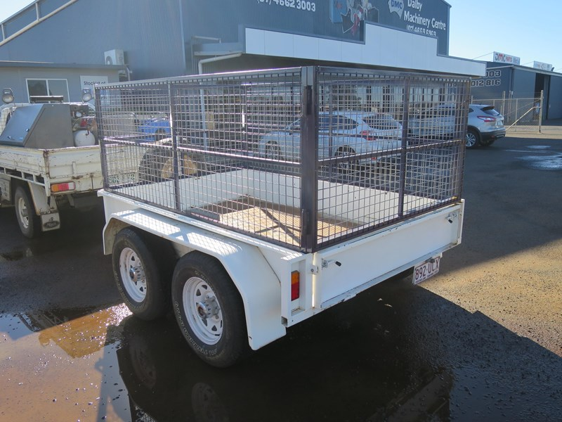 custom built tandem box trailer 433485 002