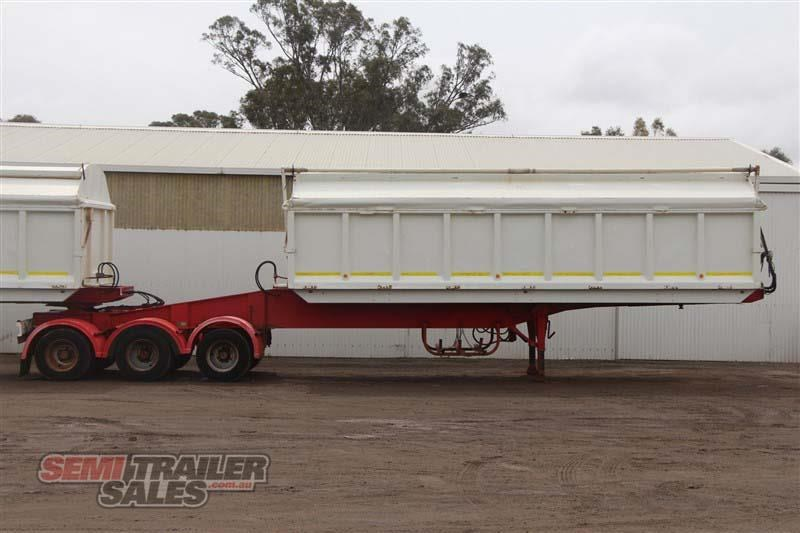 j smith & sons 40ft side tipper semi a trailer 434238 001