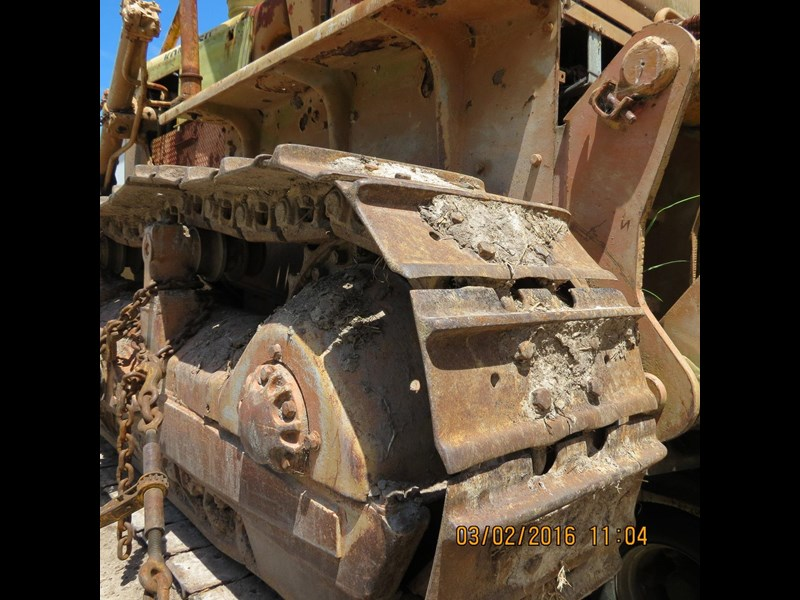 komatsu d85a-12 just arrived for dismantling. 365529 003