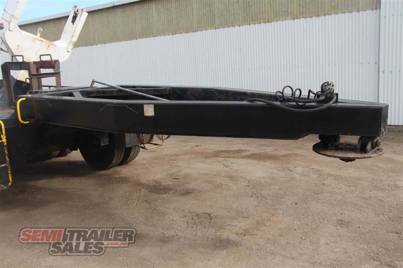 midland tri axle dolly jinker semi trailer with centre mount crane 435282 012