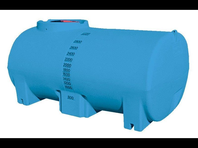 aqua-v 3000l water cartage tank - free standing water tank [stc03000to] [tfwater] 243610 001
