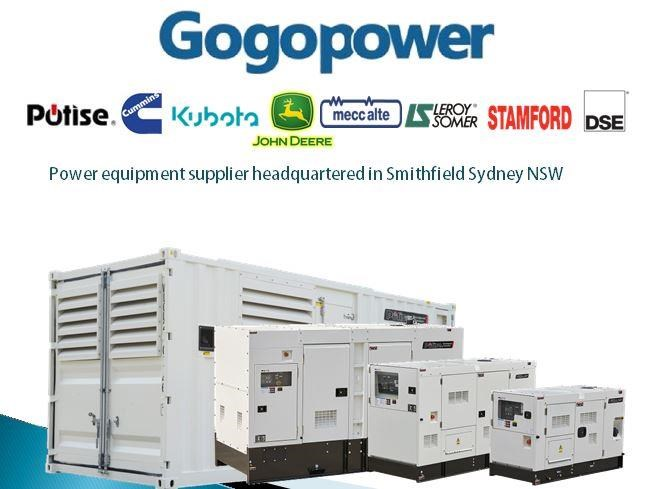 gogopower brand new ds10x5s-au potise powered generator 10kva 433897 013