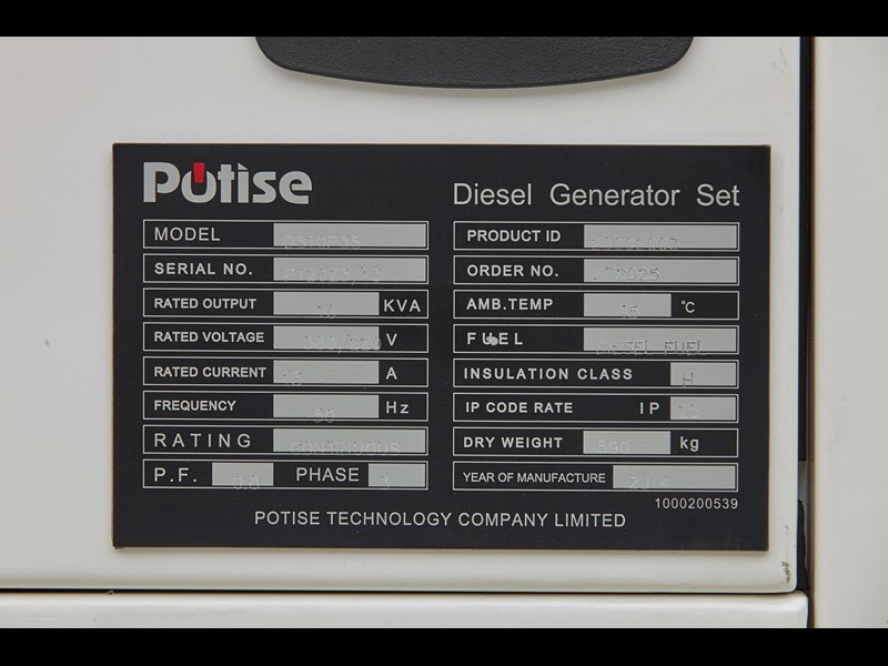 gogopower brand new ds10x5s-au potise powered generator 10kva 433897 021
