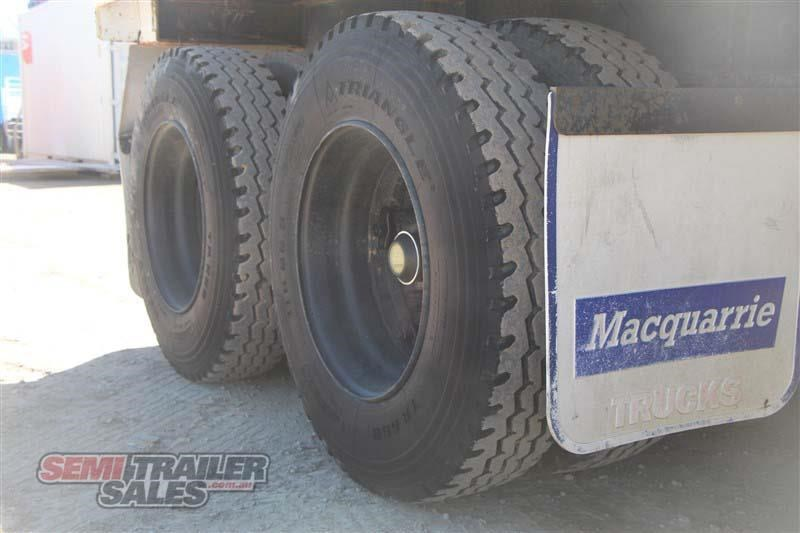 macol 27ft flat top semi trailer with pins 435688 006