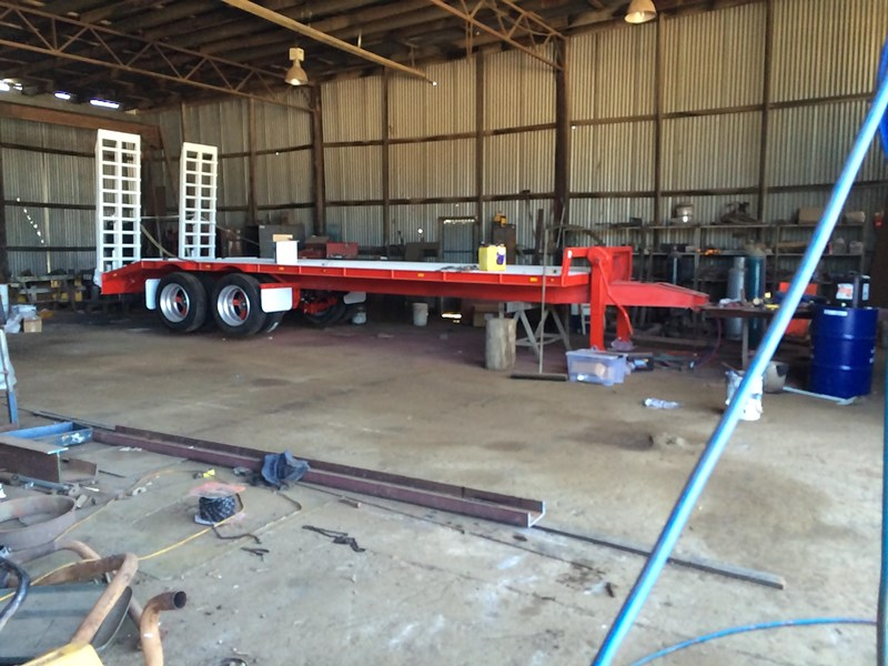 borg engineering tandem tag machinery trailer 435797 013